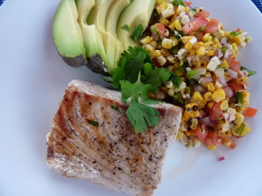 Grilled Sweet Corn Salad