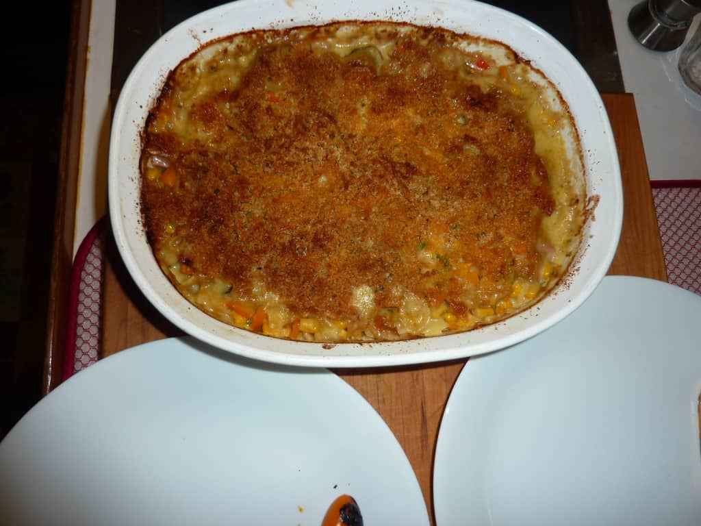 vegetable tetrazzini