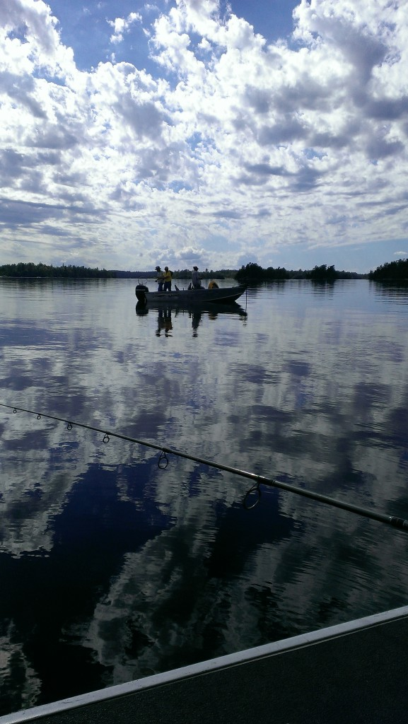 Calm day for fishing