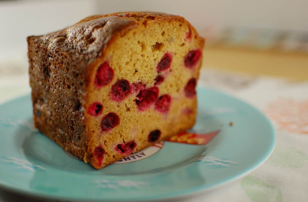 This Cranberry Quick Bread is moist and delicious. | joeshealthymeals.com