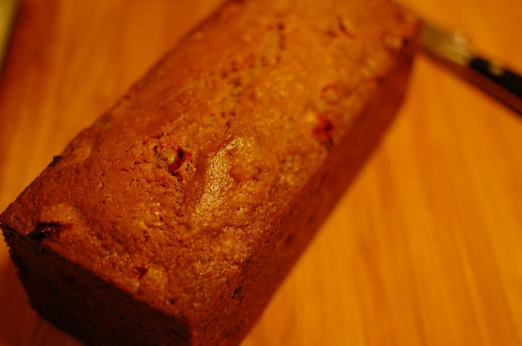 Cranberry Quick Bread is moist and delicious. | joeshealthymeals.com