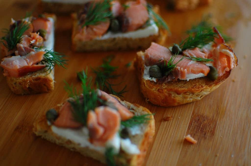 salmon canape 2