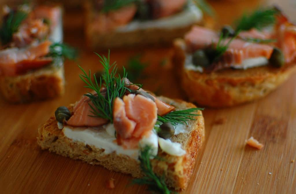 salmon canape 3