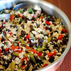 caribbean black beans and rice