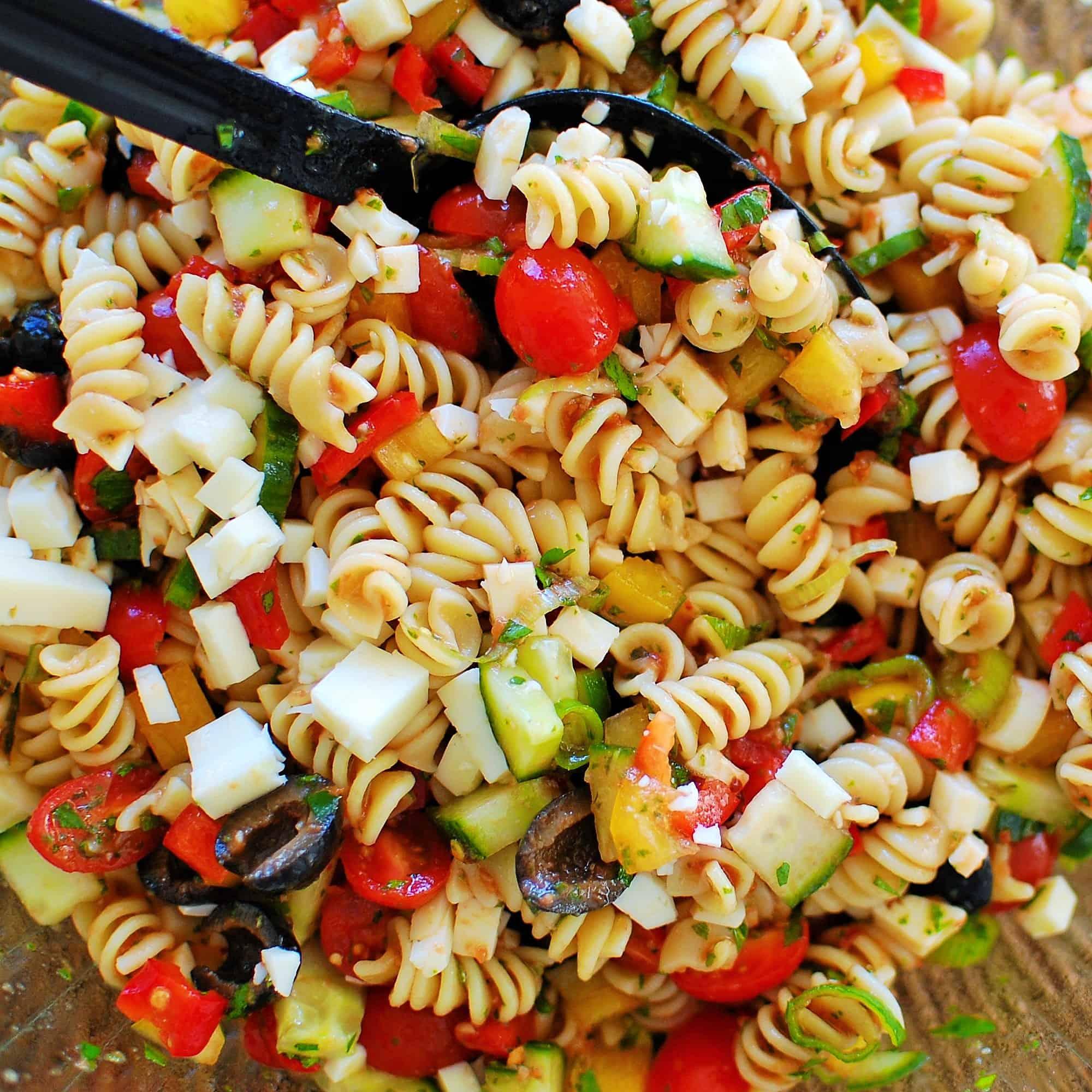 Cold pasta salad joe 39 s healthy meals for Cold pasta salad ideas