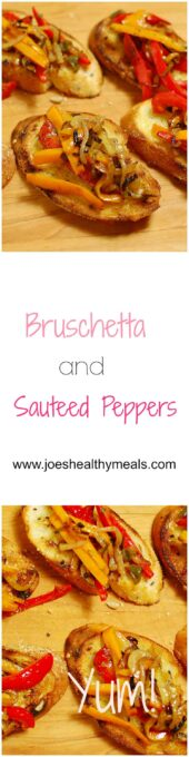 bruschetta and sauteed peppers (4)