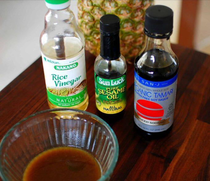 Sesame oil ingredients