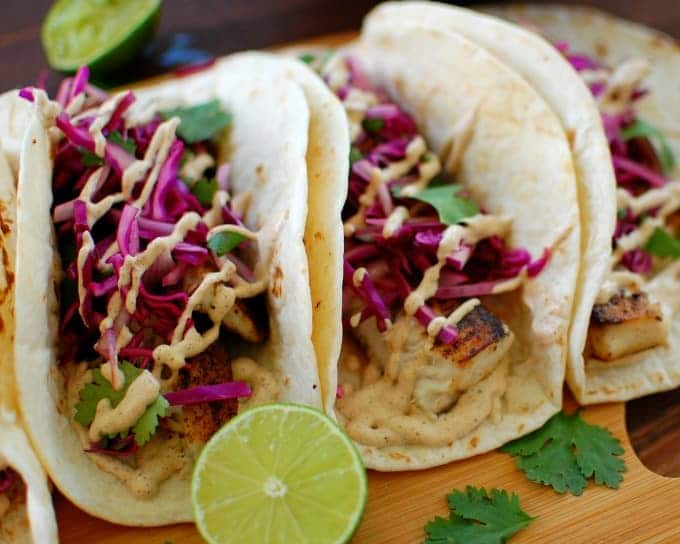 Wicked good fish tacos | joeshealthymeals.com