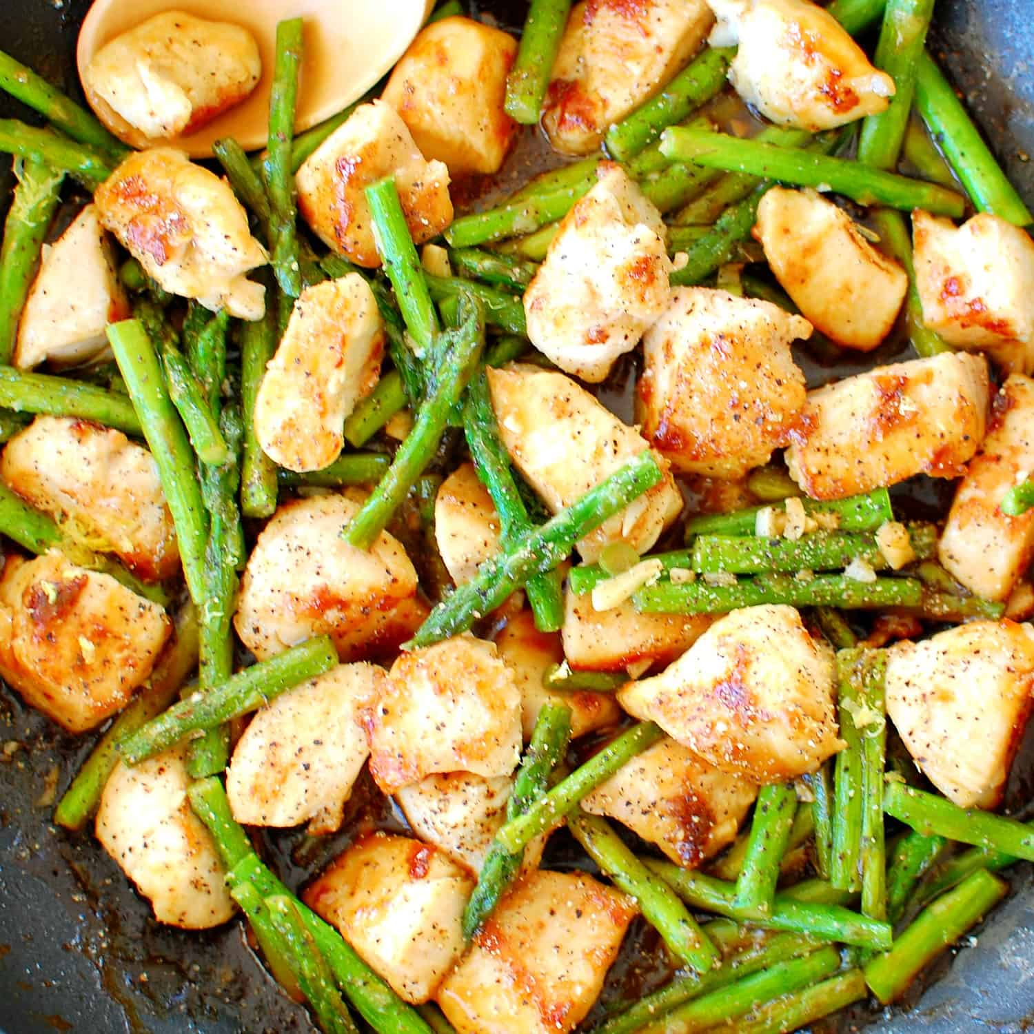 Asian Chicken and Asparagus | Joe's Healthy Meals