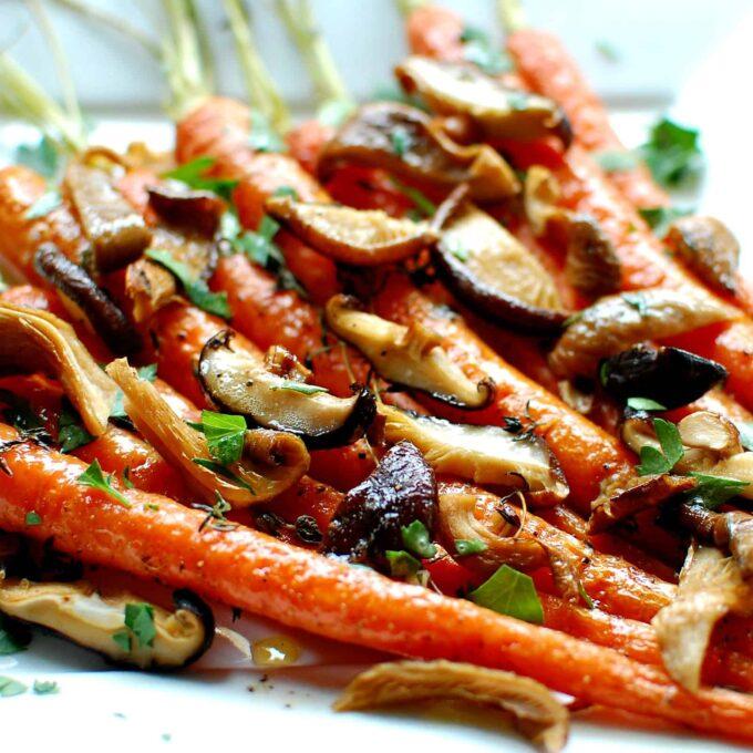 savory mushrooms | joeshealthymeals.com