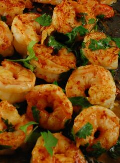Cilantro Lime Shrimp | joeshealthymeals.com