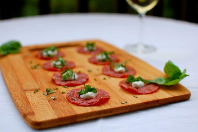 salami appetizer   joeshealthymeals.com