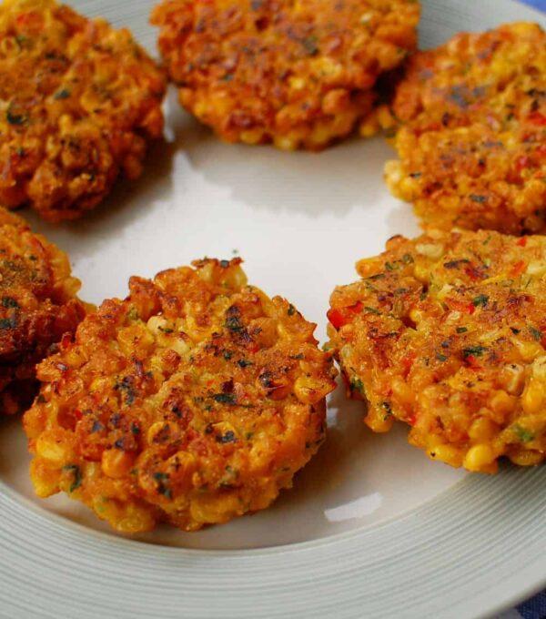corn fritter   joeshealthymeals.com