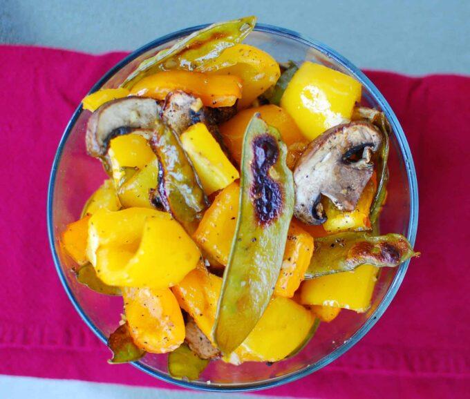 roasted vegetables | joeshealthymeals.com