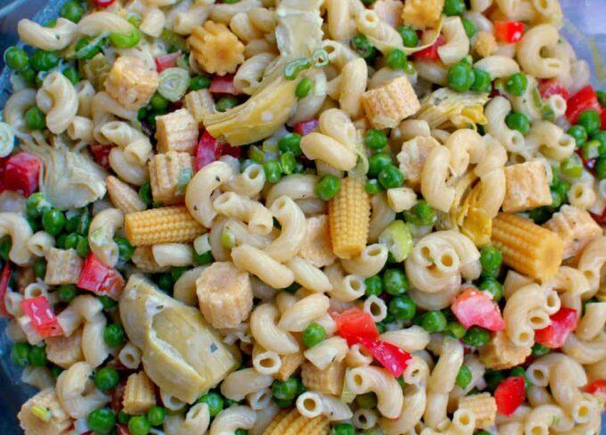 Tasty Pasta Salad   joeshealthymeals.com