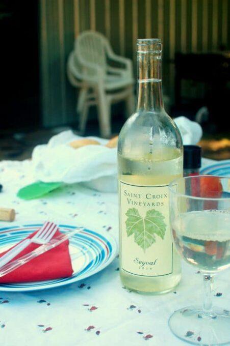 lunch and wine | joeshealthymeals.com