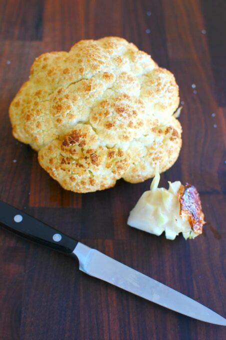 Roasted Cauliflower. | joehealthymeals.com