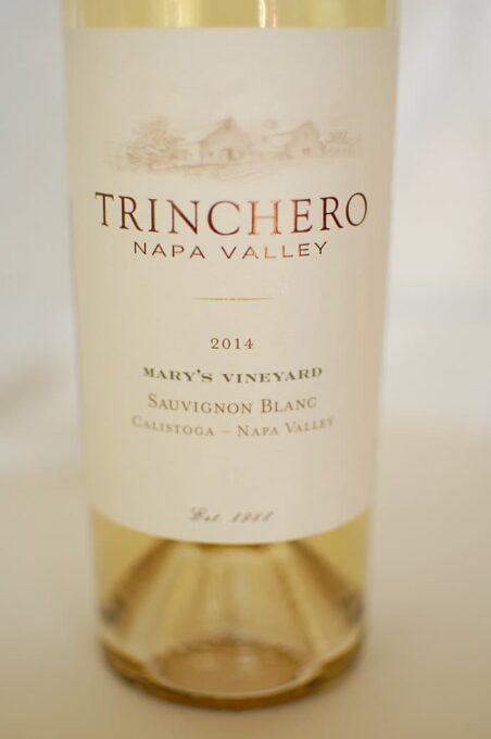 Trinchero Mary's vineyard sauvignon blanc 2014. | joeshealthymeals.com