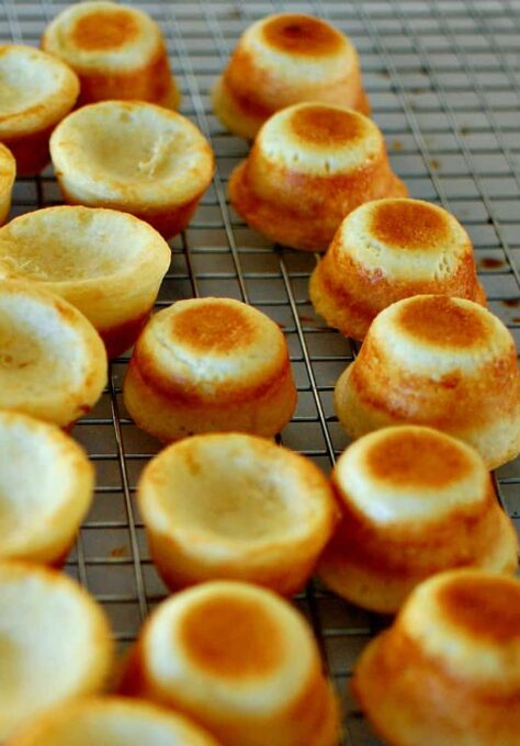 Cooling rack for the cheese balls. | joeshealthymeals.com