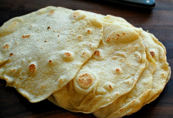 Easy homemade flour tortillas. Hey...make your own flour tortillas. They are soft and chewy.   joeshealthymeals.com