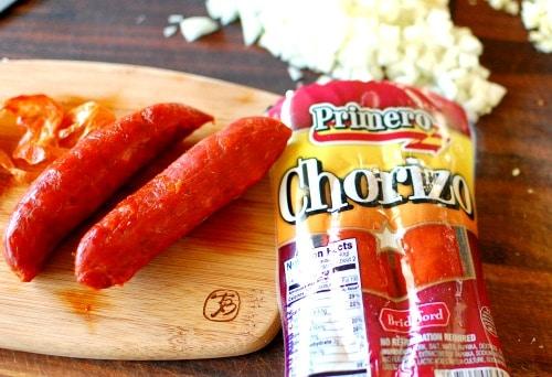 Primero chorizo package from Winn-Dixie.   joeshealthymeals.com