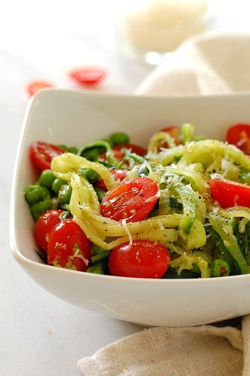 Healthy Zoodles Zucchini Noodles