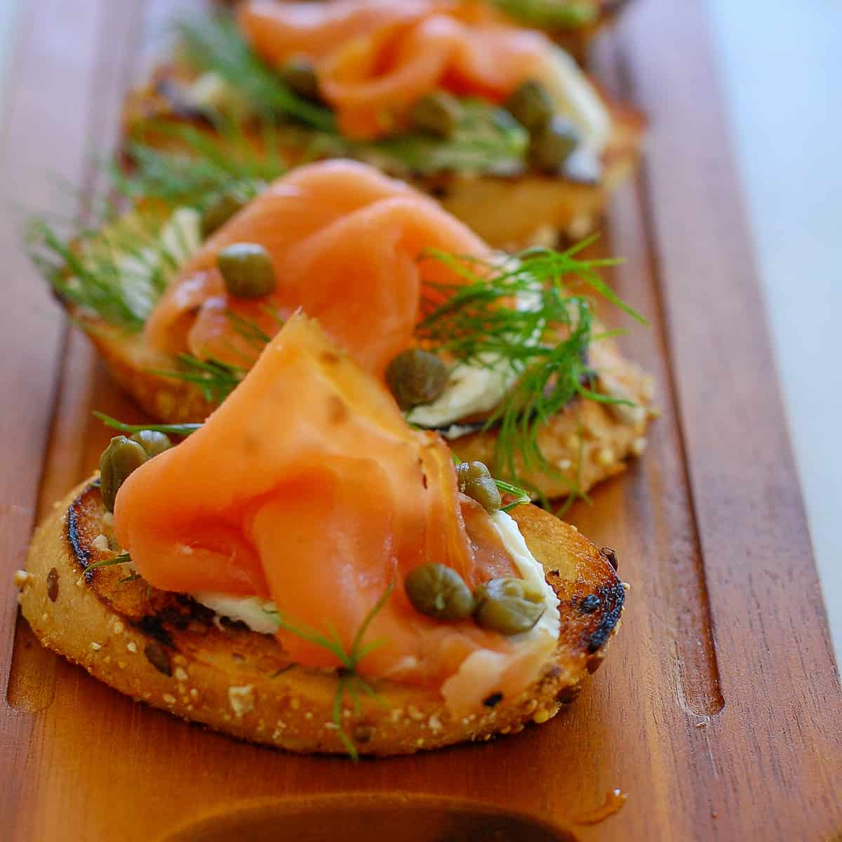 Smoked Salmon Dill And Capers Appetizer Joe S Healthy Meals