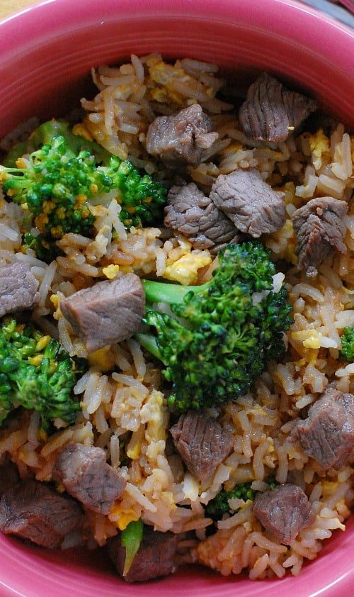 Beef Fried Rice Recipe