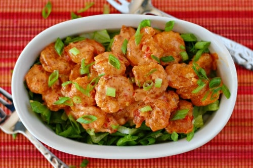 Bang bang shrimp. Copycat recipe of the crunchy, spicy little shrimp served at Bonefish Grill.   joeshealthymeals.com