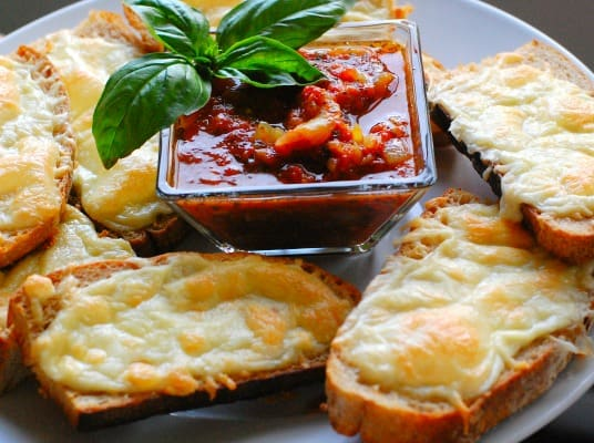 Italian dunkers with red sauce. Easy meal for a busy family. Serve it with some fruit on the side.   joeshealthymeals.com