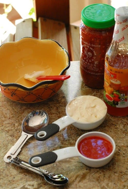 Sauce ingredients. | joeshealthymeals.com