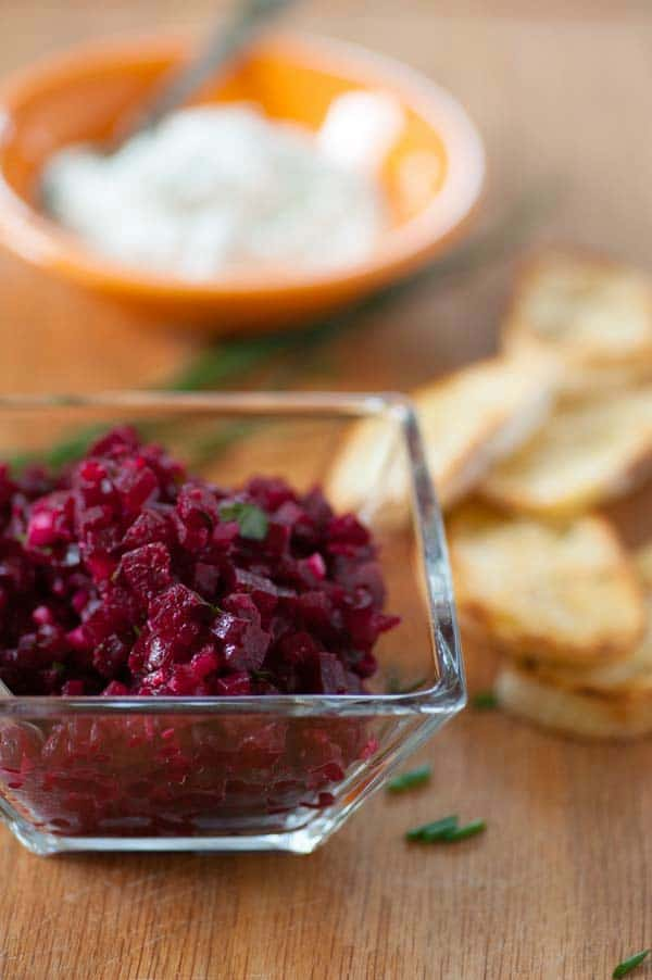 Roasted Beet Tartare Recipe