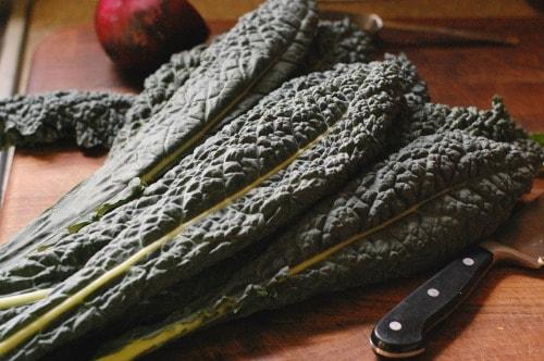 Kale salad with cranberry orange dressing | joeshealthymeals.com joe