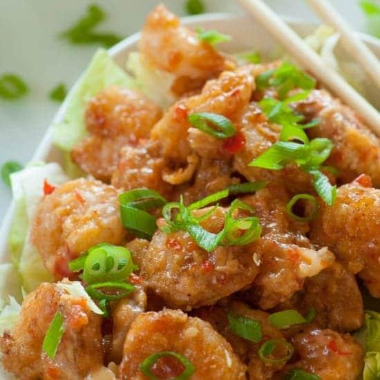 Bonefish Grill Bang Bang Shrimp. Top 8 most popular appetizers. | joeshealthymeals.com