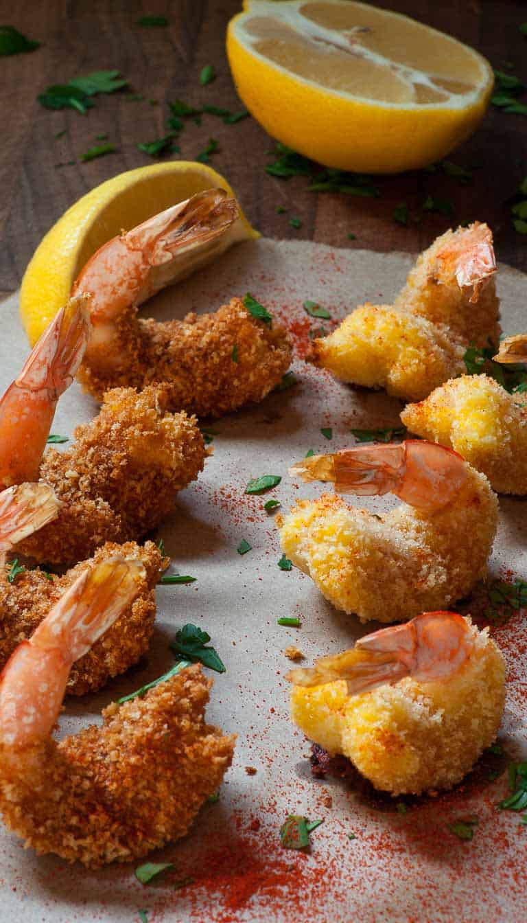 Oven Baked Breaded Butterfly Shrimp | Joe's Healthy Meals