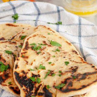 Easy naan bread recipe.