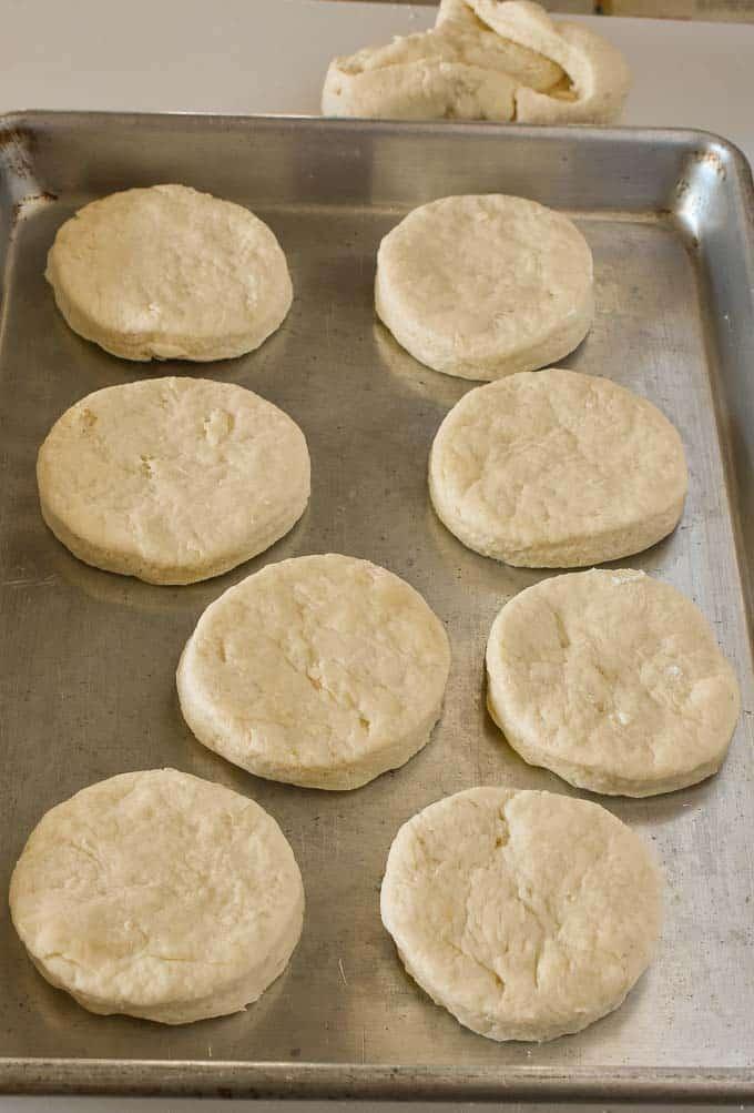 Buttermilk biscuit recipe.